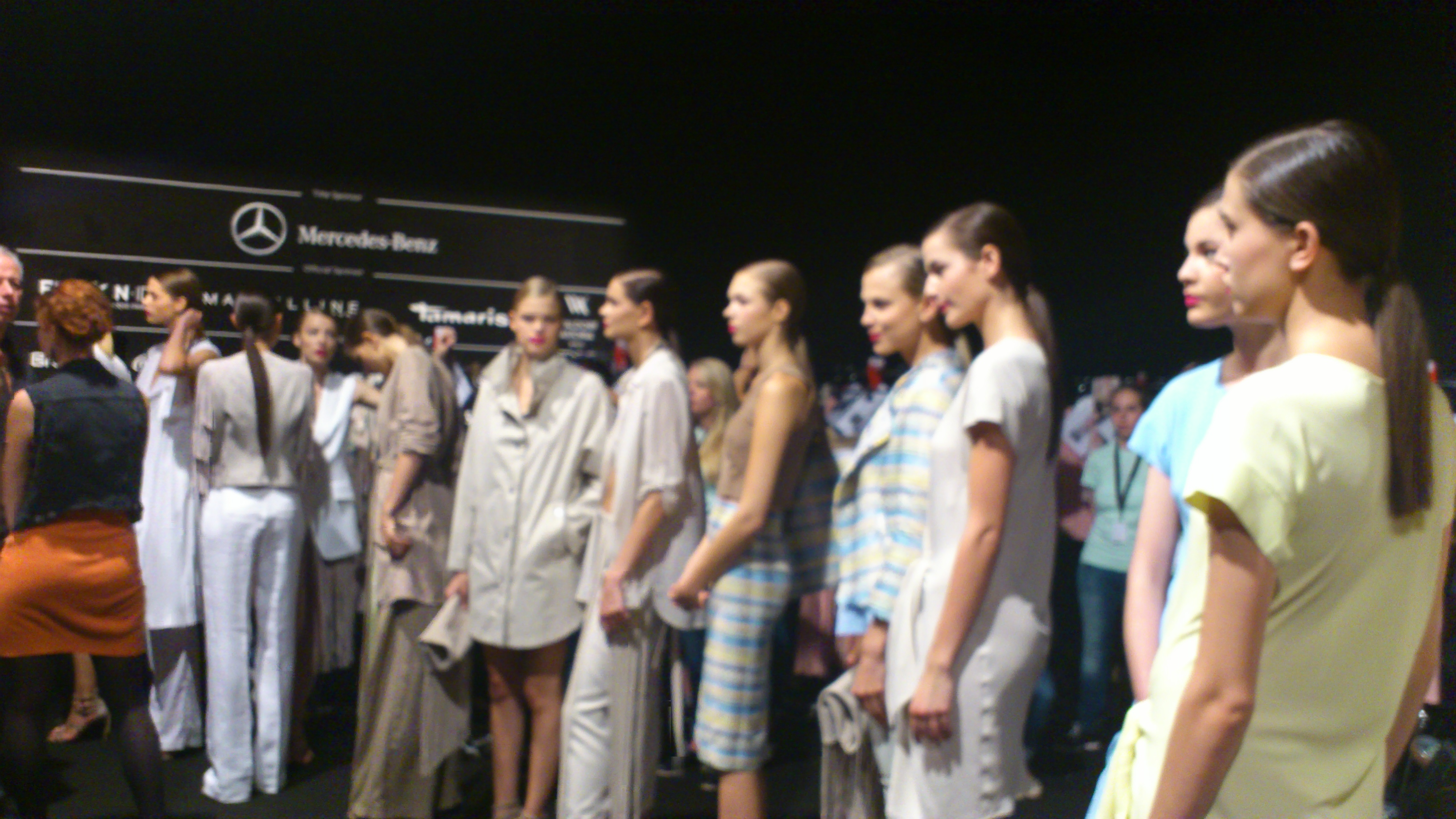 Sybille Vibrans works @ Fashion Week